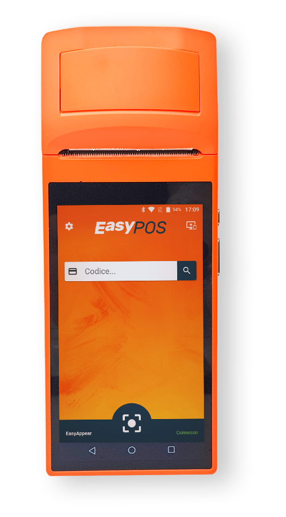 EasyPos per virtual fidelity card