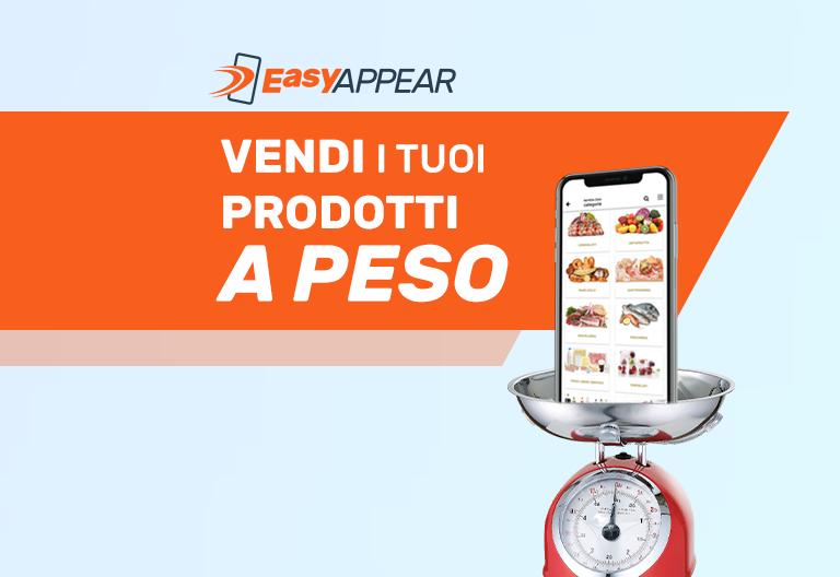 easyappear prodotti a peso in ecommerce